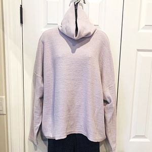AERIE Purple Turtleneck Sweater